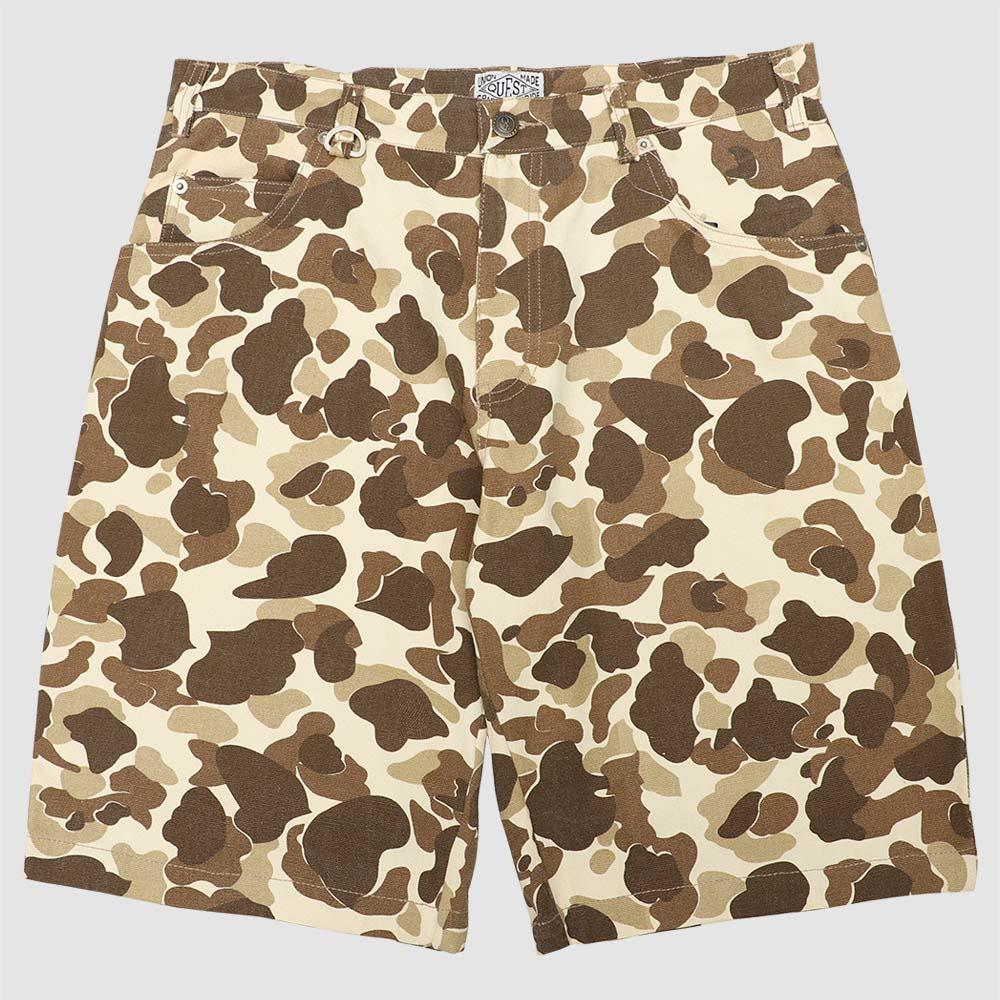【QUEST】DESERT CAMO SHORTS 沙漠迷彩短褲