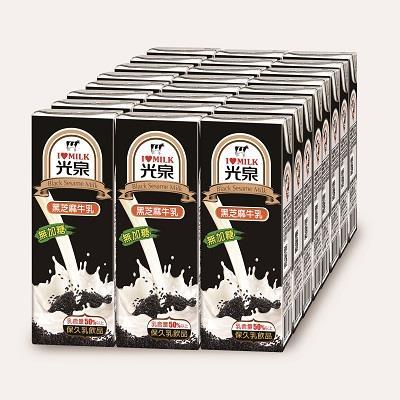 【光泉】保久乳 黑芝麻牛乳200ml*24入/箱