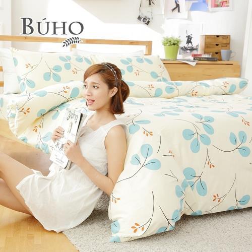 BUHO《沁青雨香》單人二件式床包枕套組