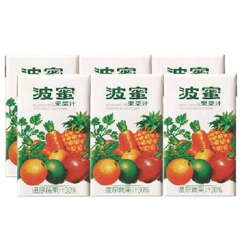 波蜜果菜汁250ml*6包/組