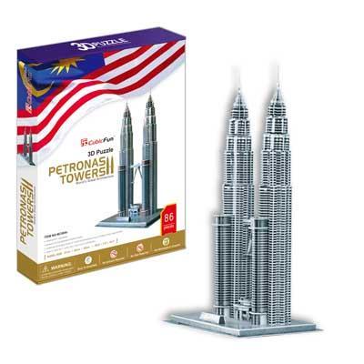 立體拼圖-馬來西亞雙子星塔