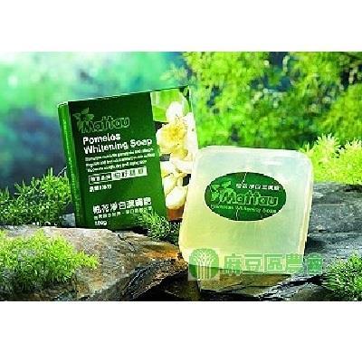 【麻豆區農會】柚花淨白潔膚皂100g*6塊