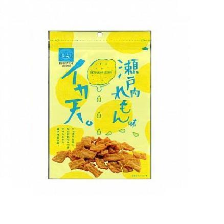 【日本MARUKA】瀨戶內檸檬口味魷魚天婦羅餅乾85g/包