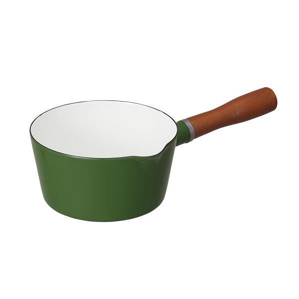 【日本CB JAPAN】北歐系列琺瑯牛奶鍋 (森林綠) 贈日森有酵排空