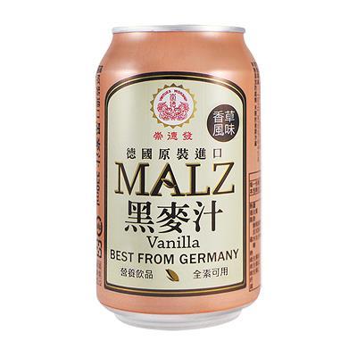 【崇德發】香草黑麥汁330ML*24入箱購