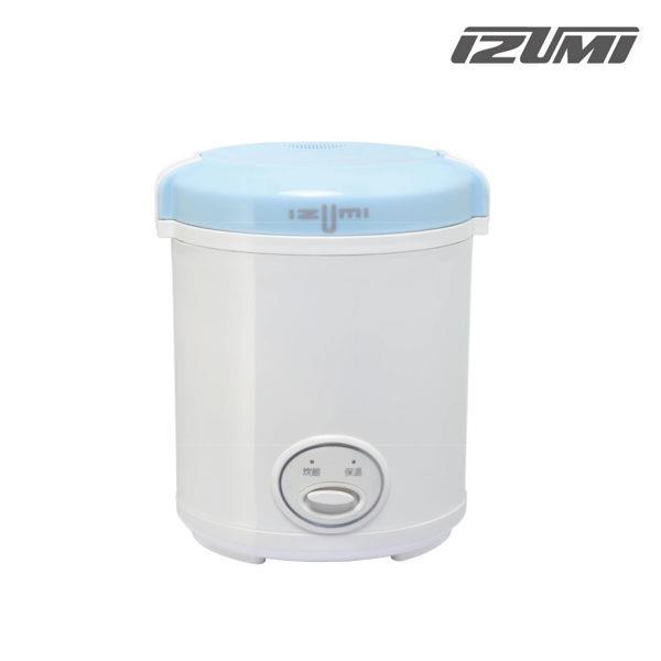 【IZUMI】日本兩人份隨行電子鍋TMC-300B(藍)