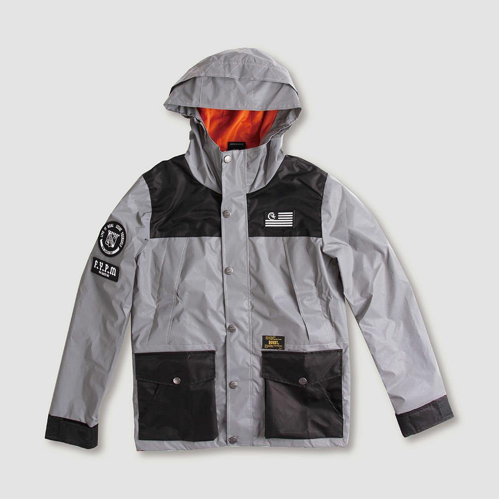 【QUEST】3M WINDBREAKER JKT  反光風衣外套