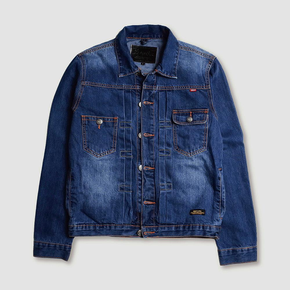 【QUEST】WASH DENIM JKT 水洗牛仔外套