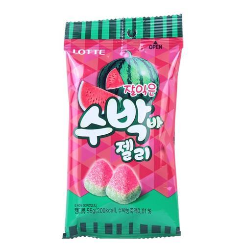 【韓國LOTTE】西瓜軟糖56g/包