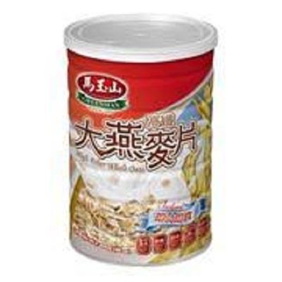 【馬玉山】高纖大燕麥片罐裝800g 2入組