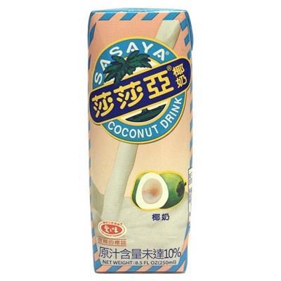 【愛之味】莎莎亞椰奶250ml*24入/箱