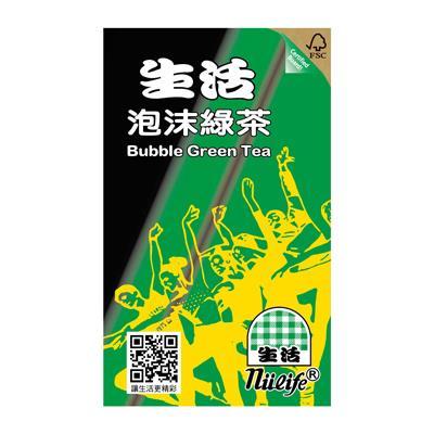 【生活】泡沫綠茶250ml*24入/箱