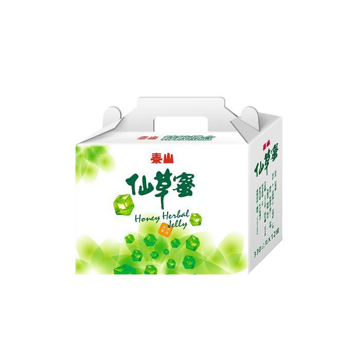 【泰山】仙草蜜禮盒*2盒(330g*12入/盒)