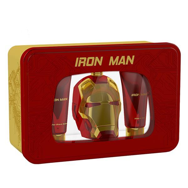 【MARVEL IRON MAN 鋼鐵人】 動力裝甲男性淡香水 禮盒