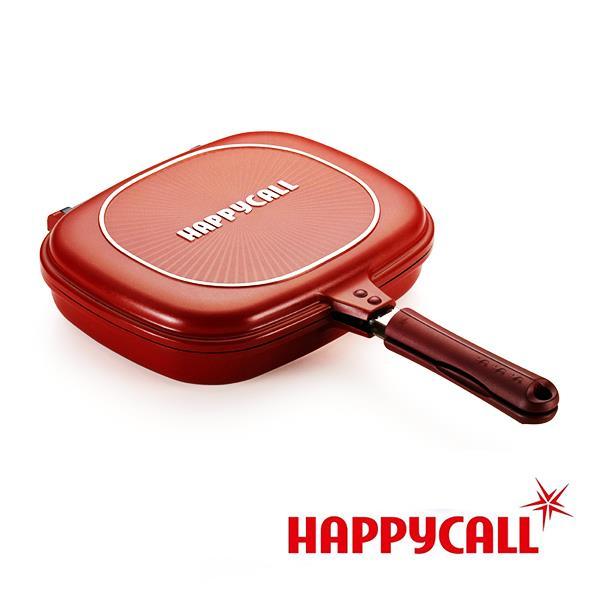 【韓國HAPPYCALL】陶瓷不沾雙面鍋(加大)