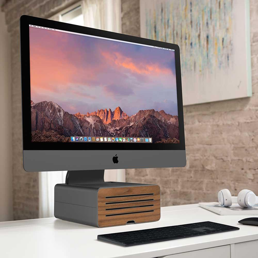 Twelve South Hirise Pro for iMac 金屬收納底座 (奢華版)