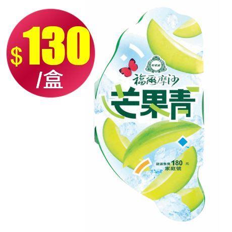 【冷凍店取-杜老爺】福爾摩沙芒果青家庭號(750g/盒*10盒)