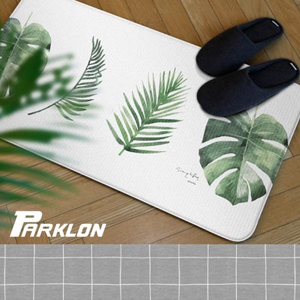 【PARKLON】韓國帕龍-雙面多用途長地墊/廚房墊/走道墊(綠葉)