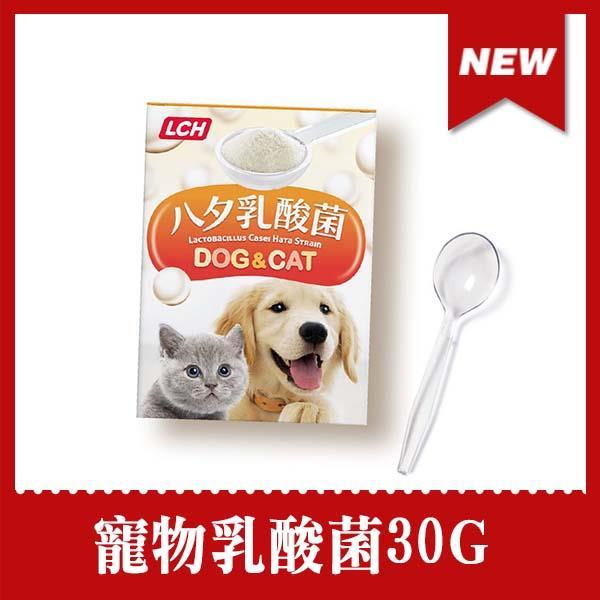 寵物貓狗專用 ★LCH寵物乳酸菌(30G)入秋毛寶貝保養身體