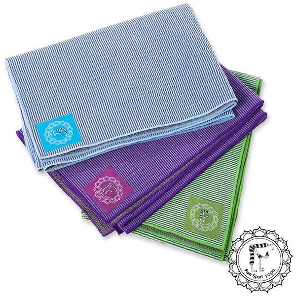 【Fun Sport】舒而護超細纖維多功能瑜珈鋪巾-送輕巧收納袋