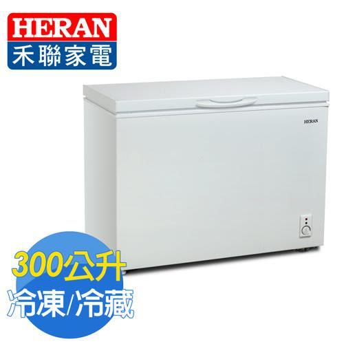 【HERAN禾聯】300L臥式冷凍櫃(HFZ-3062含拆箱定位)
