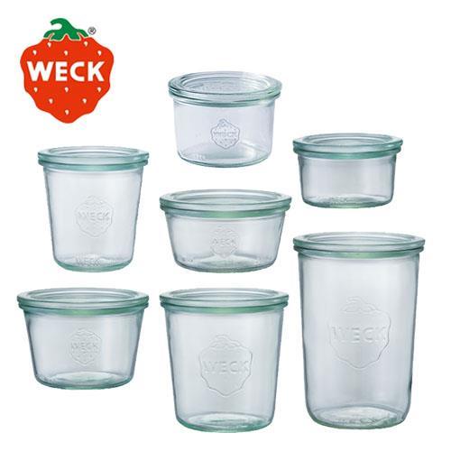 德國Weck玻璃罐Mold Jar全系列7入組(976+751+900+740+741+742+743)