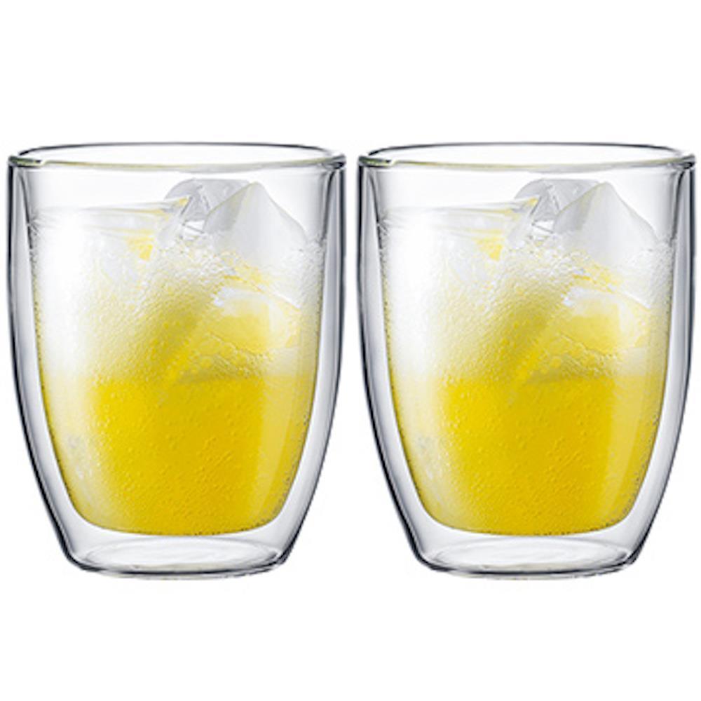 丹麥Bodum BISTRO雙層玻璃杯450CC(一盒二入)