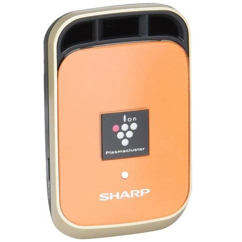 日本代購【SHARP】夏普車用空氣清淨機 高濃度離子簇25000 橘色 IG-HC1-D
