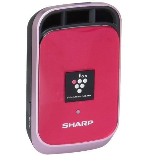 日本代購【SHARP】夏普車用空氣清淨機 高濃度離子簇25000 桃紅色IG-HC1-P