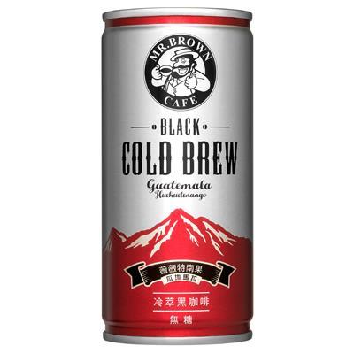 【伯朗】冷萃黑咖啡200m*24入/箱