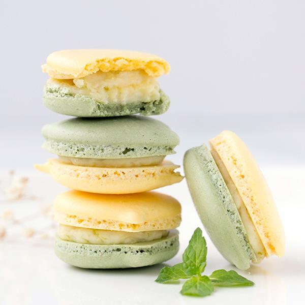 【優雅法式甜點】夏日雙色檸檬馬卡龍 - 美味生活Club