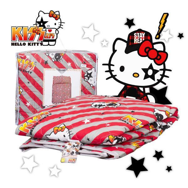 【Hello Kitty】線條 涼被 單人 台灣製 BSCFDB10S01