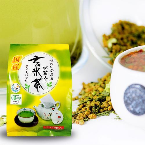 藤二玄米綠茶茶包240g