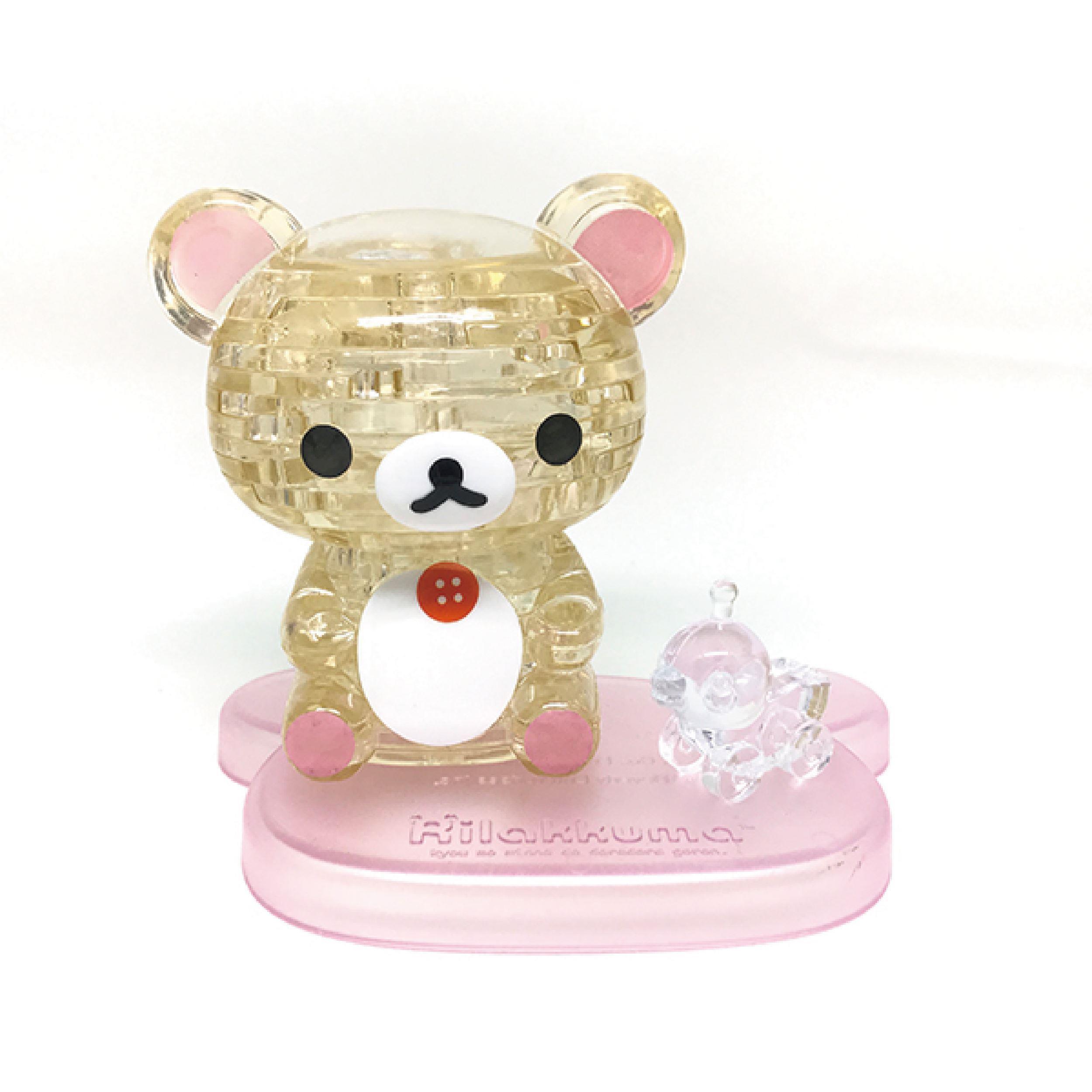 【3D立體水晶拼圖】Korilakkuma-牛奶熊
