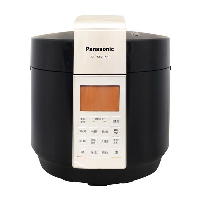 【Panasonic】國際牌6公升微電腦壓力鍋 SR-PG601