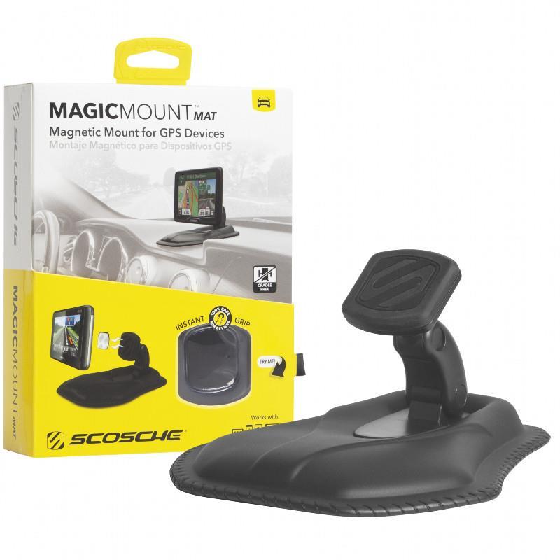 【SCOSCHE】沙包式磁鐵手機架-MAGMAT