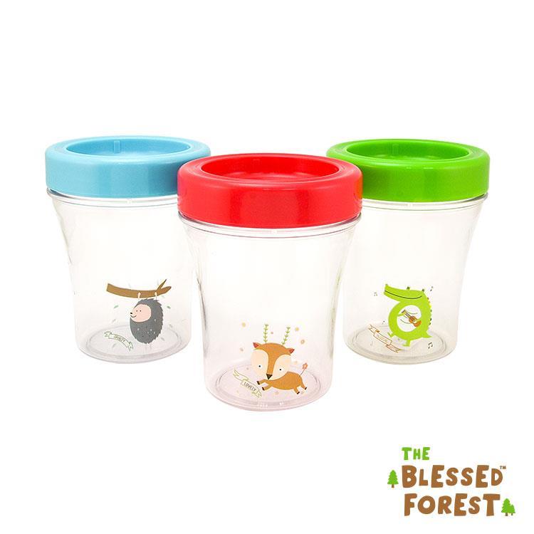 【祝福森林】母乳副食品儲存杯組-7076SET