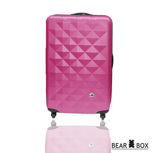 BEAR BOX晶鑽系列ABS霧面20吋旅行箱/行李箱