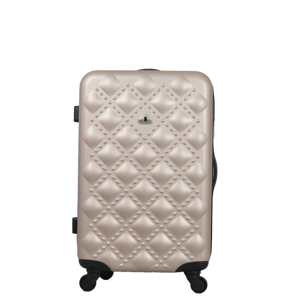 BEAR BOX時尚香奈兒系列ABS霧面 行李箱 旅行箱拉桿箱 登機箱 28吋
