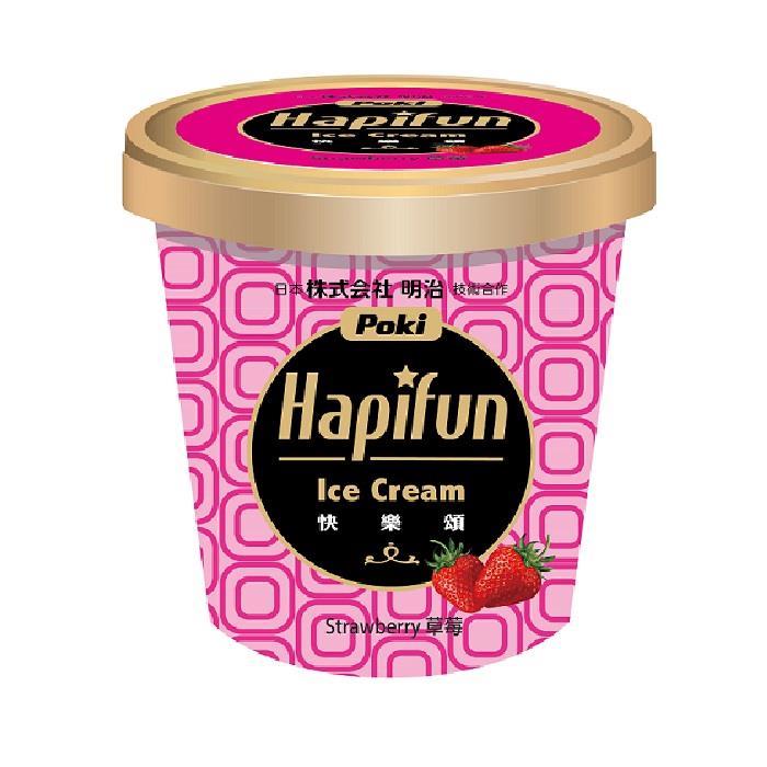 【冷凍店取-百吉】快樂頌草莓冰淇淋(270g)