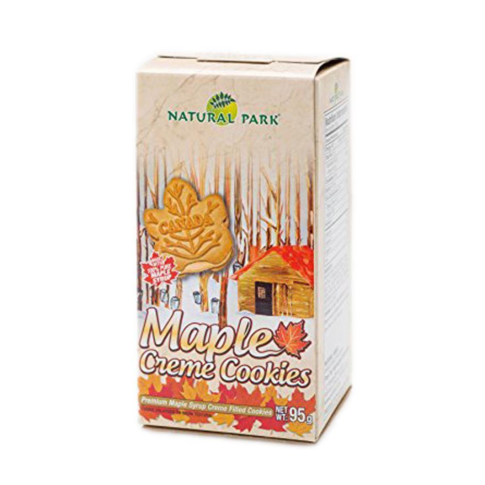 NATURAL PARK加拿大楓糖夾心餅乾
