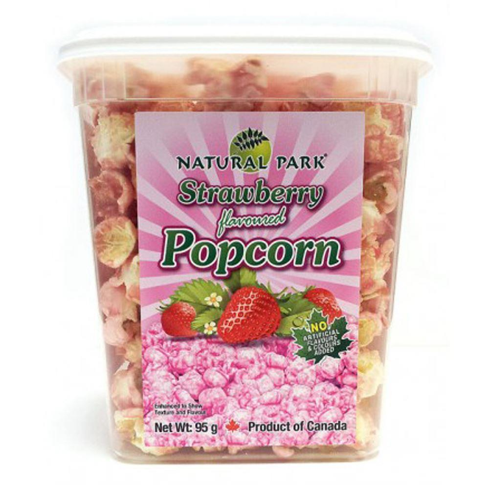 NATURAL PARK加拿大焦糖爆米花-草莓口味