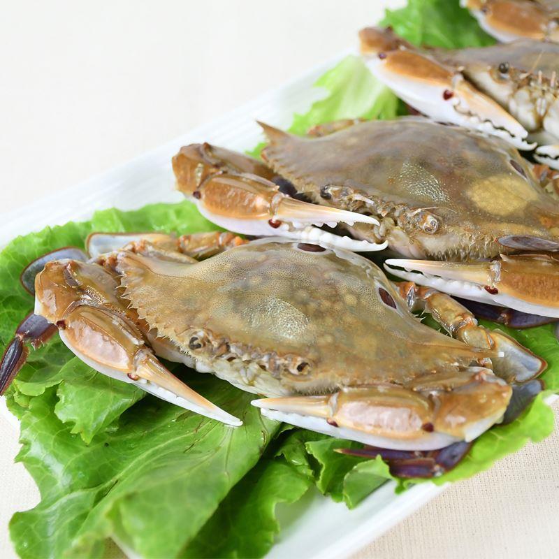 【東方食集】極鮮肥美三點蟹3入組(100g/隻)
