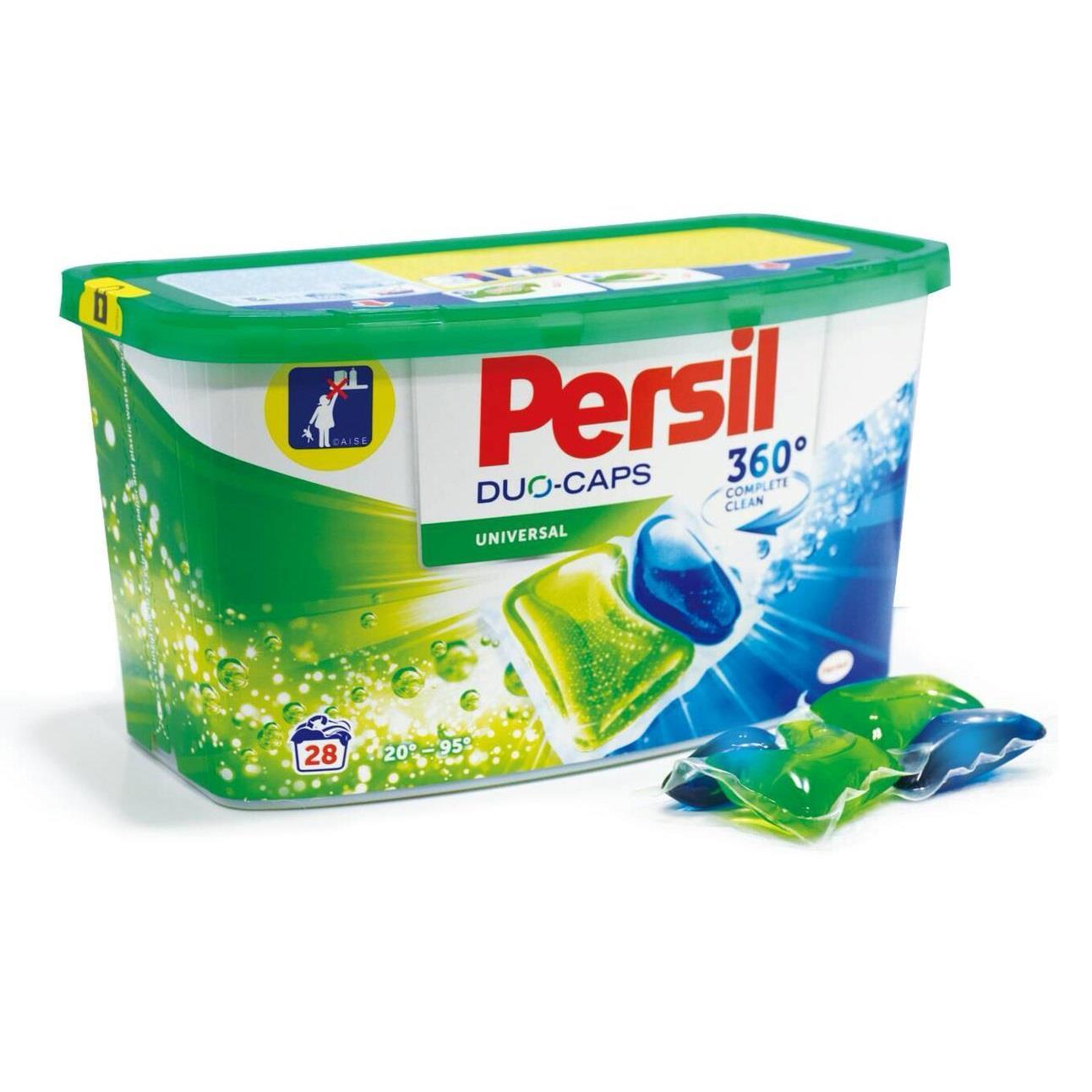 【德國】2018 全新 Persil 全效能洗衣膠囊 28顆/盒裝 3盒組)