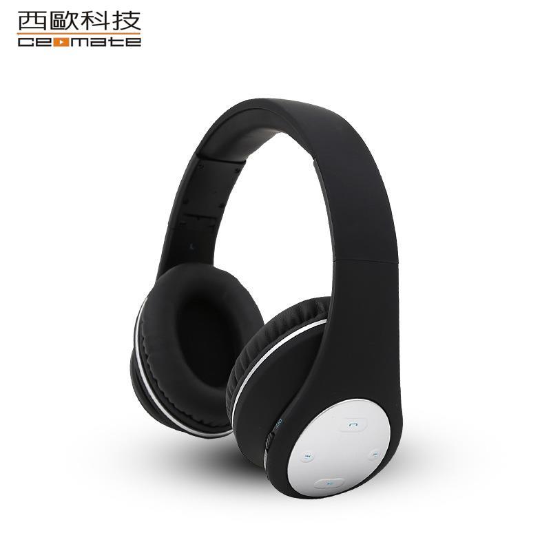 雙11特價-【西歐科技】 CME-BT990 聖地牙哥高音質耳罩式無線藍牙耳機(酷炫黑)