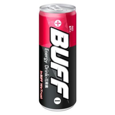 【泰山】BUFF能量飲料(戰鬥力-紅) 250ml*24入/箱