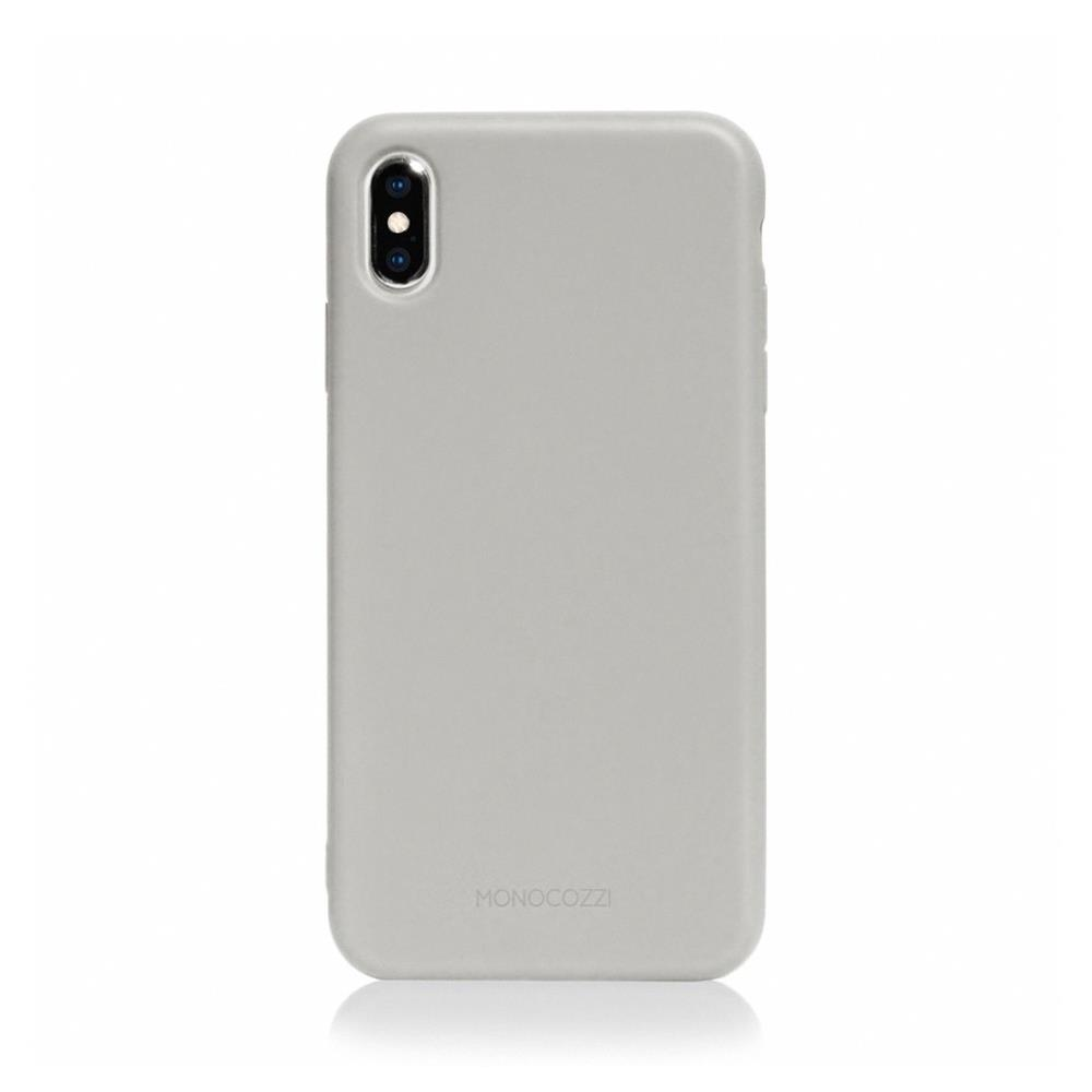 MONOCOZZI Lucid Plus iPhone XS Max 耐衝擊手機保護殼 - 灰色