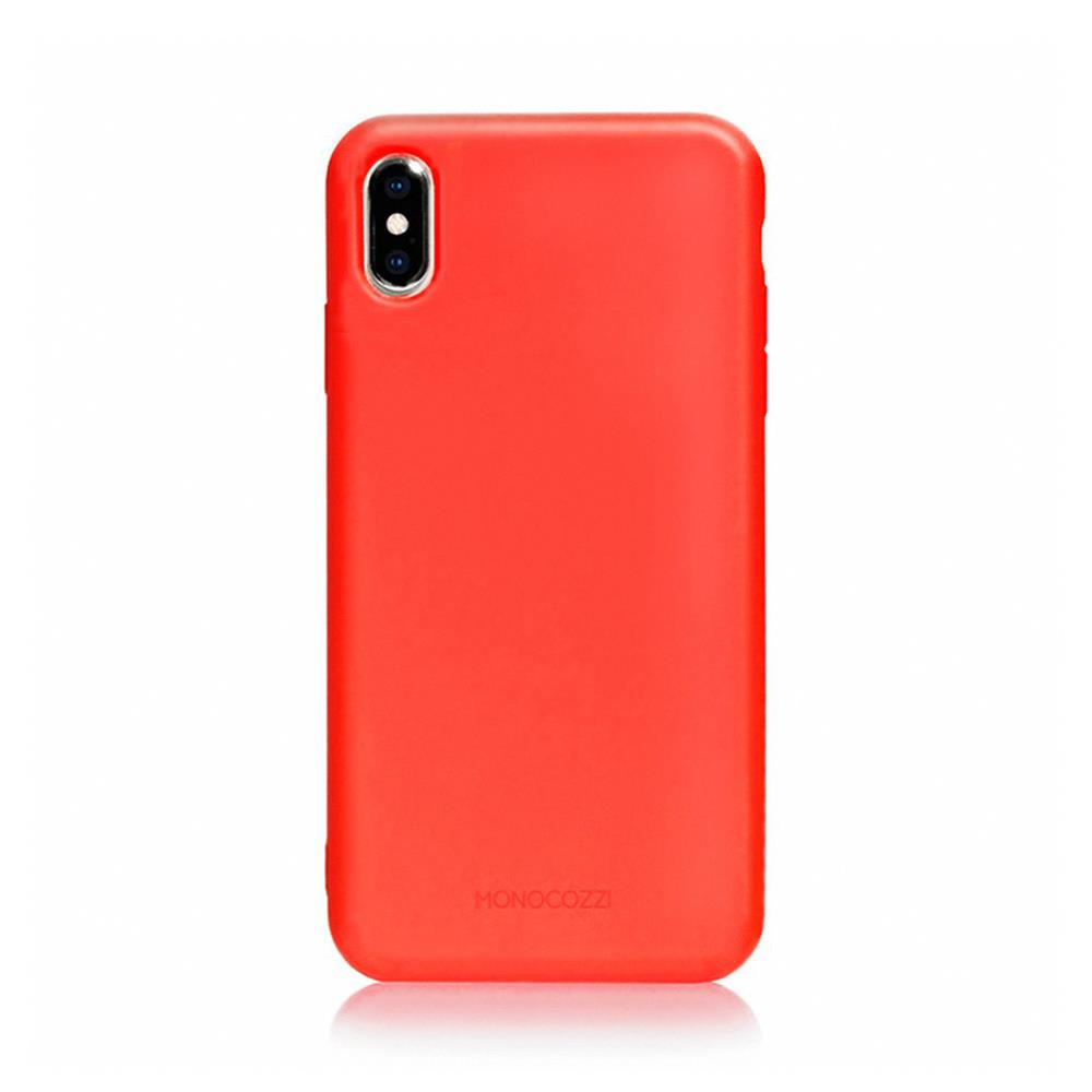 MONOCOZZI Lucid Plus iPhone XS Max 耐衝擊手機保護殼 - 紅色