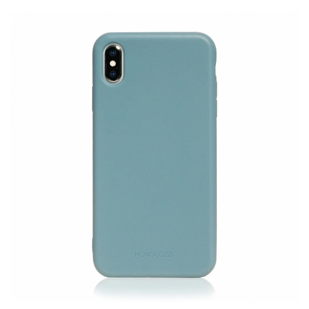 MONOCOZZI Lucid Plus iPhone XS Max 耐衝擊手機保護殼 - 灰藍