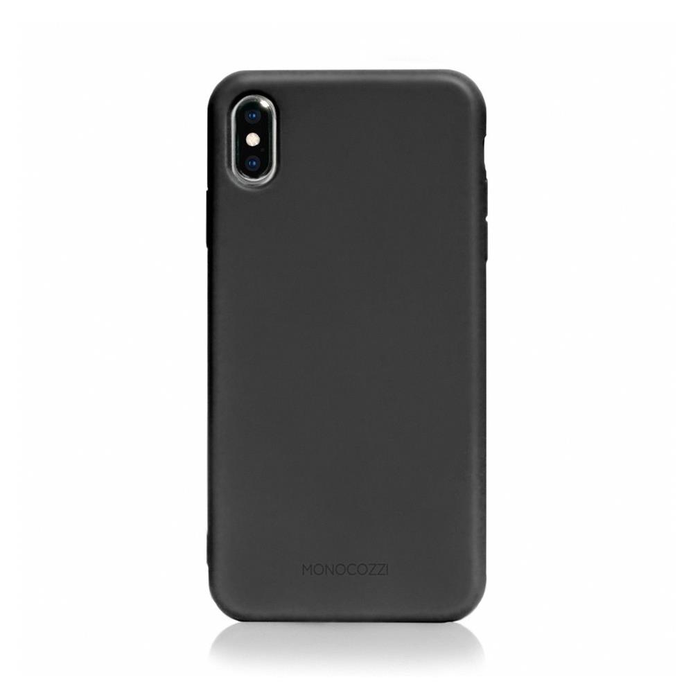 MONOCOZZI Lucid Plus iPhone XS Max 耐衝擊手機保護殼 - 黑色